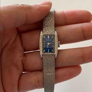 Vintage Seiko Hand Wound Mechanical Watch